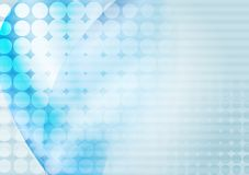 Φωτεινή μπλε αφηρημένη διανυσματική απεικόνιση διανυσματική απεικόνιση