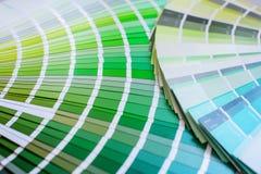 Φωτεινή παλέτα χρώματος Στοκ Φωτογραφία