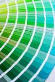 Φωτεινή παλέτα χρώματος Στοκ Εικόνες