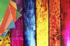 Φωτεινή σπονδυλική στήλη βιβλίων πέντε στοκ εικόνες με δικαίωμα ελεύθερης χρήσης