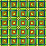 Φωτεινή σύσταση των ζωηρόχρωμων τετραγώνων Στοκ Φωτογραφίες