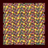 φωτεινή χρωματισμένη τυπωμέ& Στοκ Φωτογραφίες