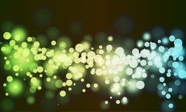 φωτεινοί κύκλοι αφαίρεσ&et Στοκ φωτογραφίες με δικαίωμα ελεύθερης χρήσης