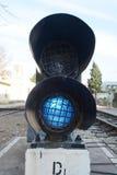 Φωτεινοί σηματοδότες σιδηροδρόμων Στοκ φωτογραφία με δικαίωμα ελεύθερης χρήσης