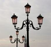 Φωτεινοί σηματοδότες στη Βενετία στοκ φωτογραφίες