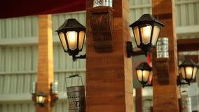 Φωτεινοί σηματοδότες στη γέφυρα φιλμ μικρού μήκους
