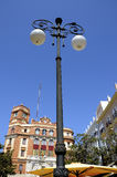 Φωτεινοί σηματοδότες στο Καντίζ Ισπανία Στοκ Εικόνες