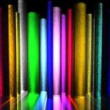 φωτεινοί σωλήνες χρώματο&s Στοκ εικόνες με δικαίωμα ελεύθερης χρήσης