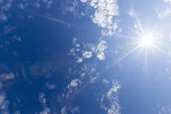 φωτεινός ήλιος στοκ φωτογραφία
