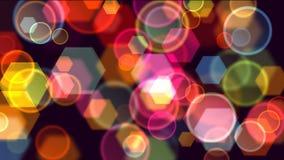 Φωτεινός βρόχος υποβάθρου απόθεμα βίντεο
