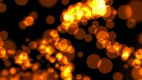Φωτεινός βρόχος υποβάθρου bokeh φιλμ μικρού μήκους