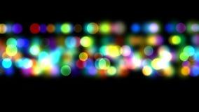Φωτεινός βρόχος υποβάθρου bokeh απόθεμα βίντεο