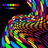 φωτεινός δημιουργικός ανασκόπησης απεικόνιση αποθεμάτων