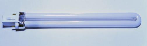 Φωτεινός λαμπτήρας σωλήνων στοκ εικόνα