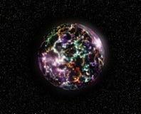 Φωτεινός πλανήτης Στοκ φωτογραφία με δικαίωμα ελεύθερης χρήσης