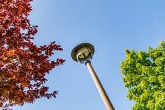 Φωτεινός σηματοδότης της αρχαίας ΟΔΓ στο Βερολίνο Marzahn, Γερμανία Στοκ φωτογραφία με δικαίωμα ελεύθερης χρήσης