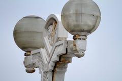 Φωτεινός σηματοδότης με το οξείδιο Στοκ φωτογραφία με δικαίωμα ελεύθερης χρήσης