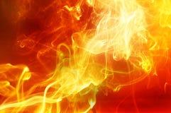 Φωτεινός χρυσός καπνός στοκ εικόνα με δικαίωμα ελεύθερης χρήσης