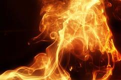 Φωτεινός χρυσός καπνός στοκ εικόνες με δικαίωμα ελεύθερης χρήσης