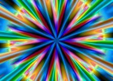 φωτεινός χρωματισμένος π&omicro ελεύθερη απεικόνιση δικαιώματος