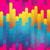 Φωτεινό άνευ ραφής σχέδιο λωρίδων Στοκ Εικόνες