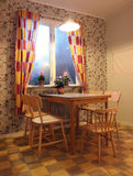 Φωτεινό αναδρομικό Kithcen Στοκ εικόνες με δικαίωμα ελεύθερης χρήσης
