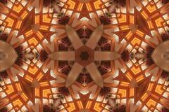 Φωτεινό αστέρι Mandala Στοκ φωτογραφίες με δικαίωμα ελεύθερης χρήσης
