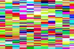 Φωτεινό διακοσμητικό υπόβαθρο των ψηφιακών λουρίδων αποτυχίας, δυσλειτουργία Στοκ φωτογραφίες με δικαίωμα ελεύθερης χρήσης