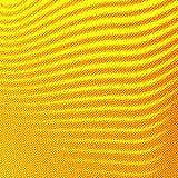 Φωτεινό διαστιγμένο ζωηρόχρωμο κόμικς υπόβαθρο γραμμών ύφους ημίτονο Στοκ Εικόνες