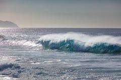 Φωτεινό ζωηρόχρωμο ωκεάνιο υπόβαθρο θάλασσας κυμάτων Στοκ Φωτογραφία