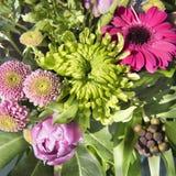 φωτεινό διάνυσμα εικόνων λουλουδιών ανθοδεσμών Στοκ εικόνα με δικαίωμα ελεύθερης χρήσης