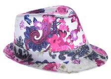 Φωτεινό καπέλο με έναν χείλο Στοκ εικόνες με δικαίωμα ελεύθερης χρήσης