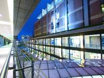 φωτεινό κτήριο σύγχρονο Στοκ Εικόνες
