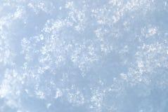 φωτεινό μακρο χιόνι ανασκό&pi Στοκ Φωτογραφίες