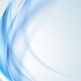 Φωτεινό μπλε κυματιστό σχέδιο διανυσματική απεικόνιση