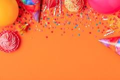 Φωτεινό ντεκόρ για γενέθλια, κόμμα Στοκ εικόνα με δικαίωμα ελεύθερης χρήσης
