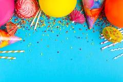 Φωτεινό ντεκόρ για γενέθλια, κόμμα Στοκ εικόνες με δικαίωμα ελεύθερης χρήσης