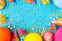 Φωτεινό ντεκόρ για γενέθλια, κόμμα Στοκ Εικόνες