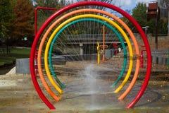 Φωτεινό πάρκο παφλασμών Στοκ φωτογραφίες με δικαίωμα ελεύθερης χρήσης