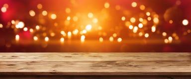 Φωτεινό πανόραμα σπινθηρίσματος Στοκ εικόνα με δικαίωμα ελεύθερης χρήσης