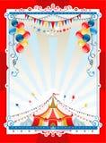 φωτεινό πλαίσιο τσίρκων Στοκ Εικόνα