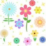 φωτεινό πρότυπο λουλου&d Στοκ φωτογραφία με δικαίωμα ελεύθερης χρήσης