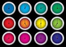 φωτεινό ρολόι Στοκ Εικόνα