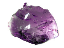Φωτεινό ροδανιλίνης γυαλί Stone Στοκ εικόνες με δικαίωμα ελεύθερης χρήσης