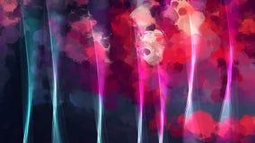 Φωτεινό ρόδινο υπόβαθρο κουρτινών μεταξιού Αμερικανός διακοσμεί διανυσματική έκδοση συμβόλων σχεδίου την πατριωτική καθορισμένη Στοκ Εικόνα