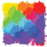 Φωτεινό σχέδιο υποβάθρων παφλασμών Ελεύθερη απεικόνιση δικαιώματος