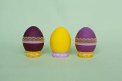 Φωτεινό σύνολο αυγών Πάσχας Στοκ φωτογραφία με δικαίωμα ελεύθερης χρήσης