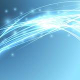 Φωτεινό ταχύτητας υπόβαθρο καλωδίων σπινθηρίσματος αφηρημένο Στοκ φωτογραφία με δικαίωμα ελεύθερης χρήσης