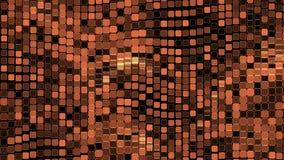Φωτεινό υπόβαθρο με το βρόχο τετραγώνων διανυσματική απεικόνιση