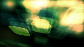 Φωτεινό υπόβαθρο με το βρόχο τετραγώνων απόθεμα βίντεο